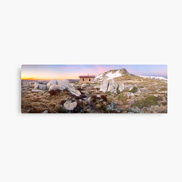 Seamans Hut, Mt Kosciuszko, New South Wales, Australia Metal Print