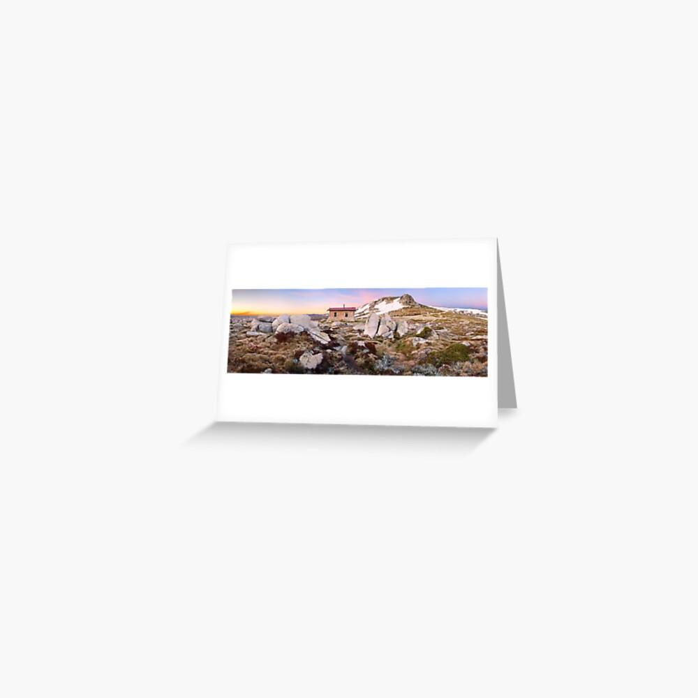 Seamans Hut, Mt Kosciuszko, New South Wales, Australia Greeting Card