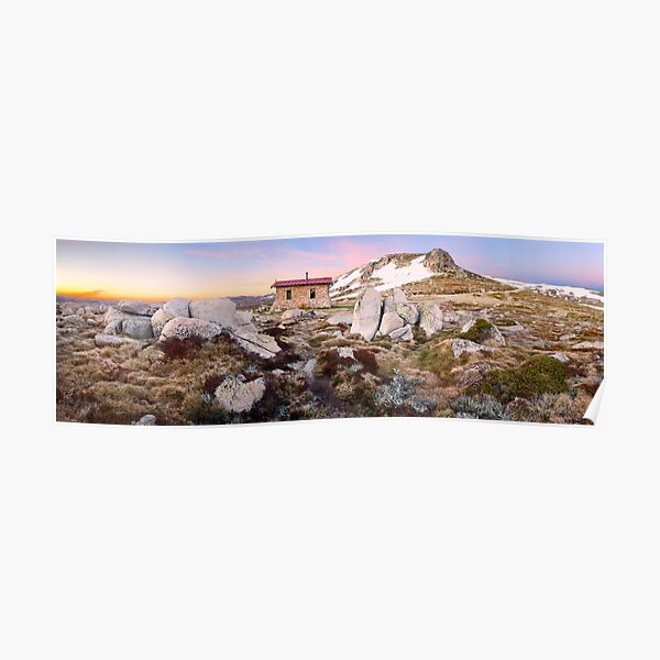 Seamans Hut, Mt Kosciuszko, New South Wales, Australia Poster