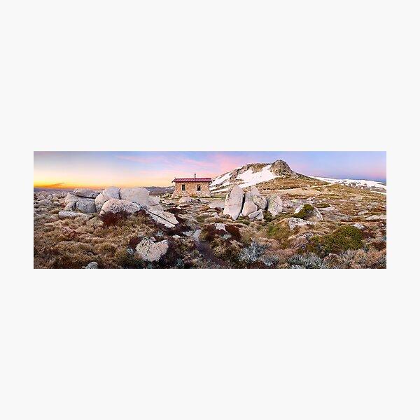 Seamans Hut, Mt Kosciuszko, New South Wales, Australia Photographic Print
