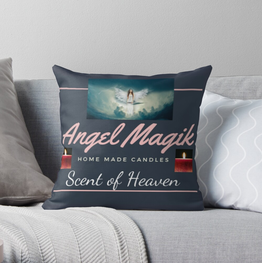 Angel Magik Throw Pillow