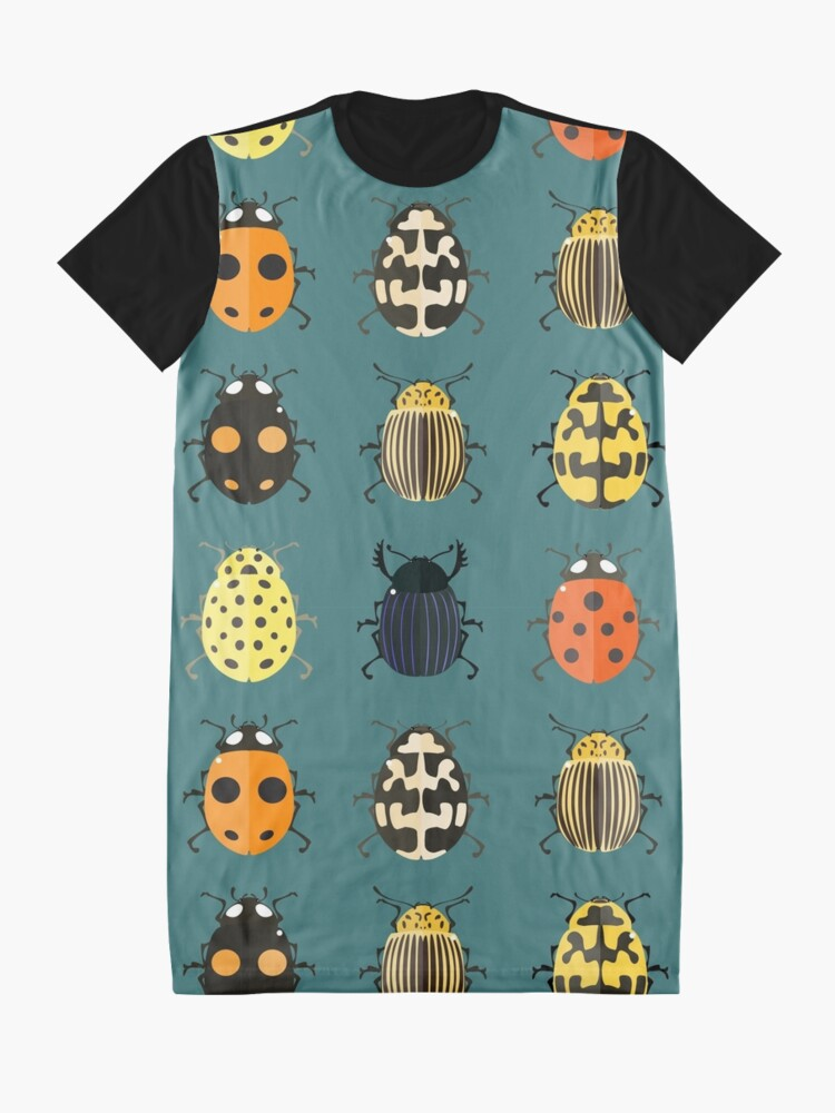 Alternative Ansicht von Nette Wanzen. T-Shirt Kleid
