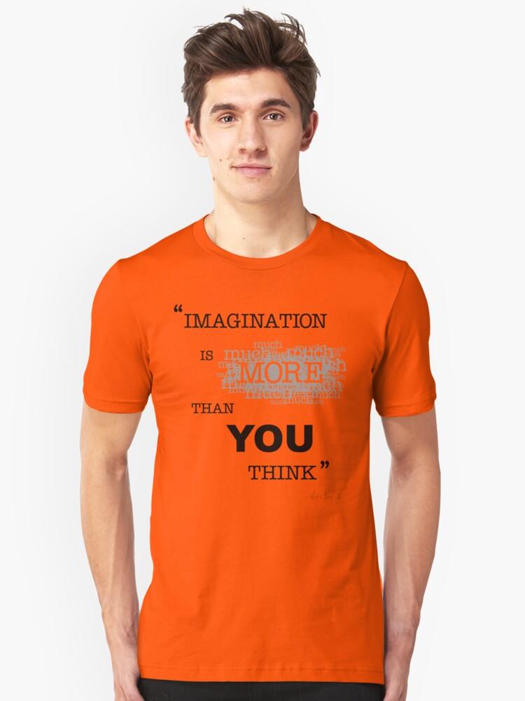 """""""IMAGINATION"""" Unisex T-Shirt Front"""