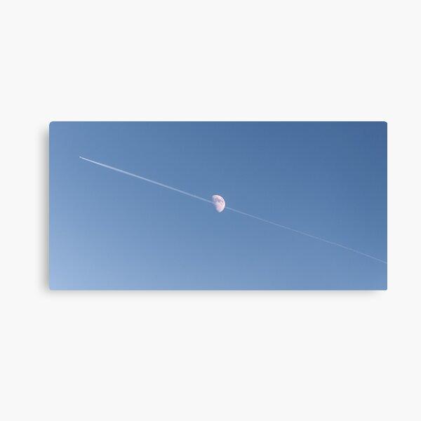 Fly me through the moon Canvas Print