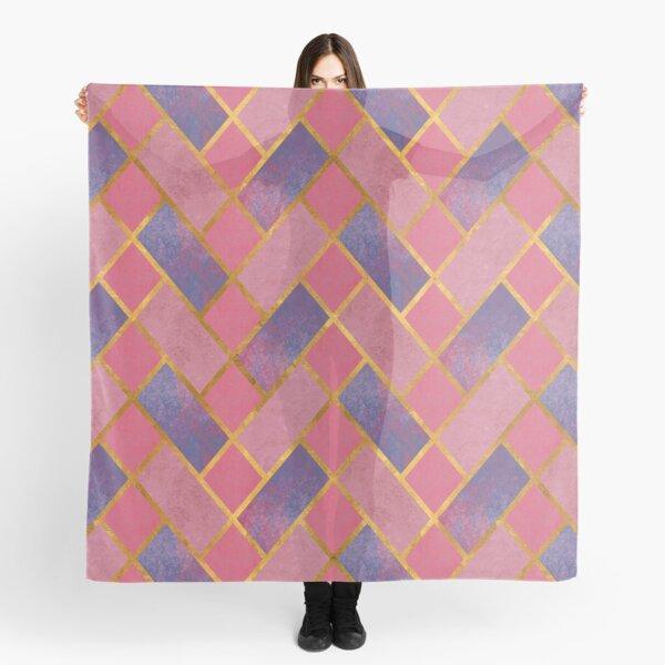 Pink Tiles Scarf