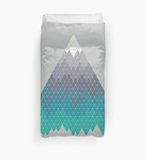 Many Mountains Duvet Cover