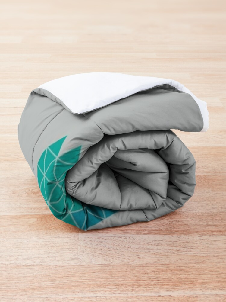Alternate view of Many Mountains Comforter