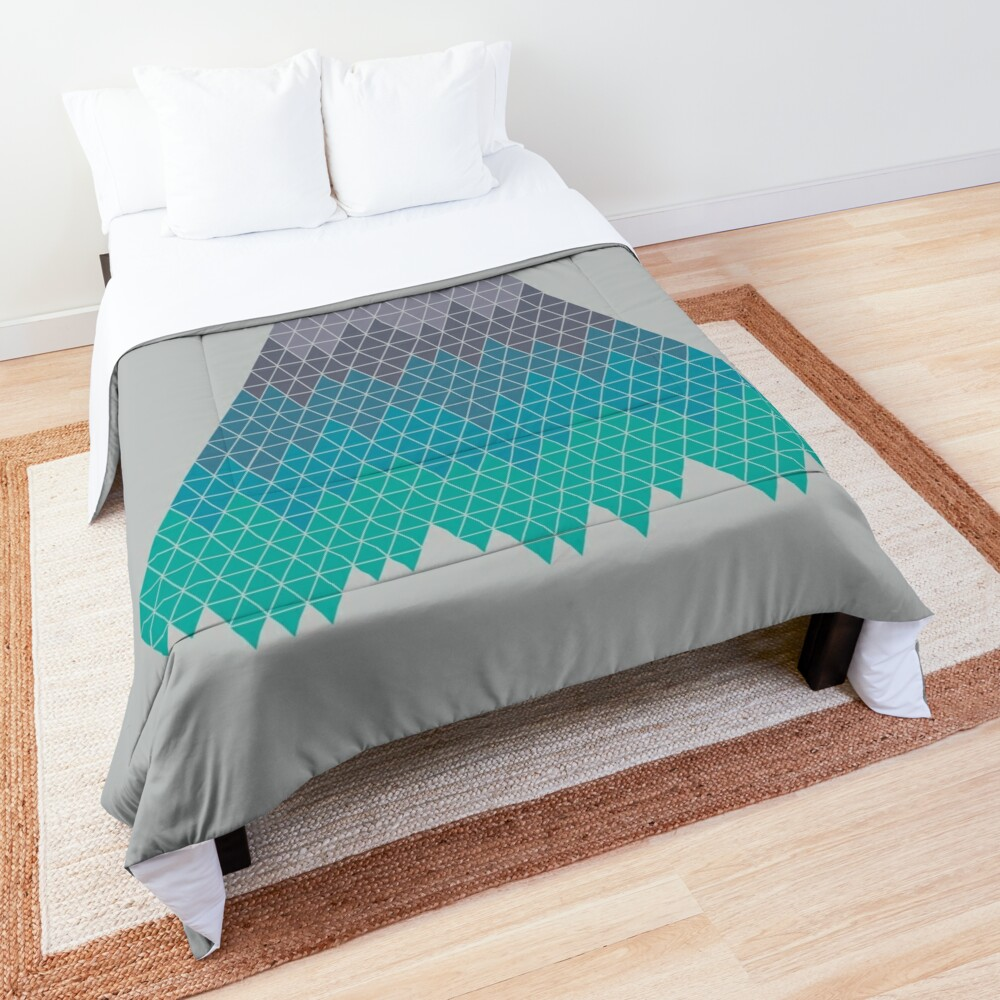 Many Mountains Comforter