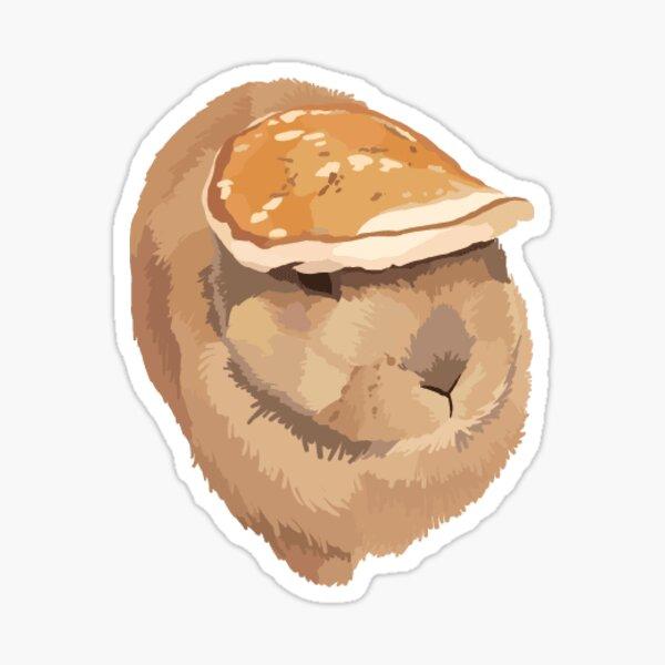 Pancake Bun Sticker Sticker