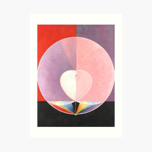 """Hilma af Klint """"The Dove, No. 02, Group IX-UW, No. 26"""" Art Print"""