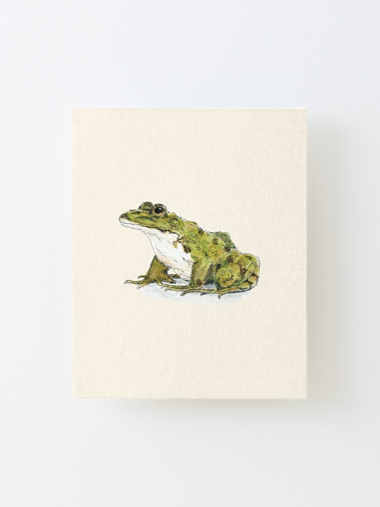 Alternate view of Frog Mounted Print