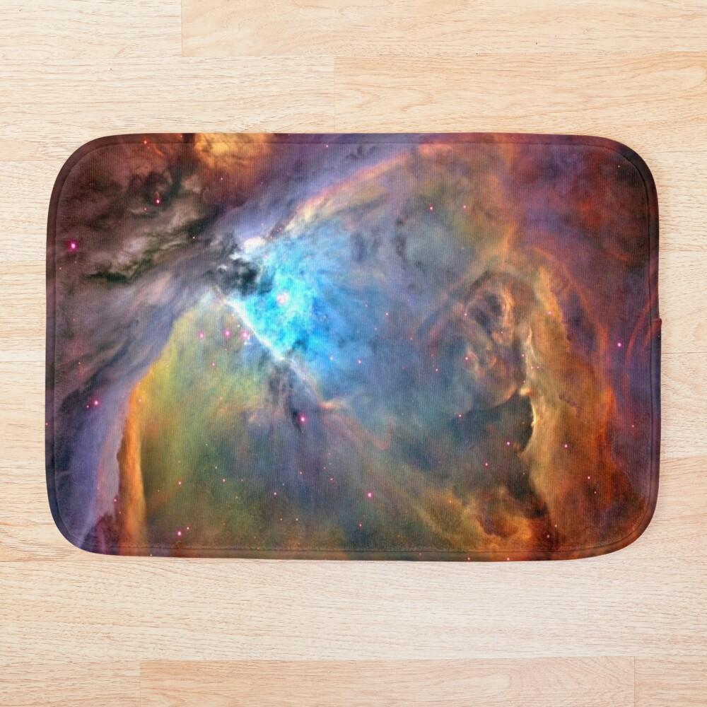 Orion Nebula Space Galaxy, RBSSG Bath Mat