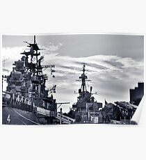 Naval Park And Museum Poster