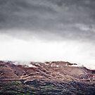Hill over Lake Wakatipu by Kye Vincent