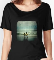 Surfer Dudes - TTV Women's Relaxed Fit T-Shirt