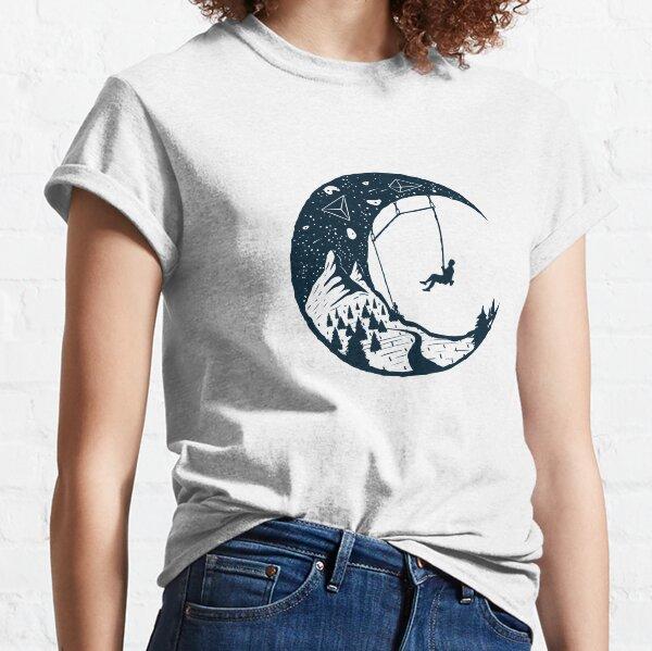Cielo del escalador | Alpinismo Camiseta clásica