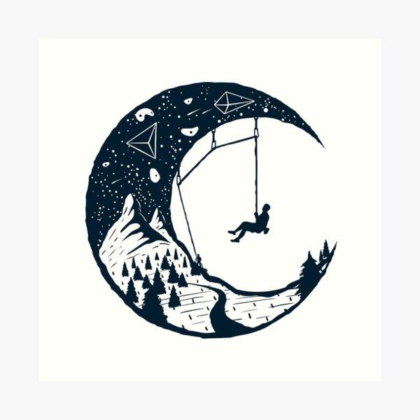 Climber's Sky | Climbing Art Print
