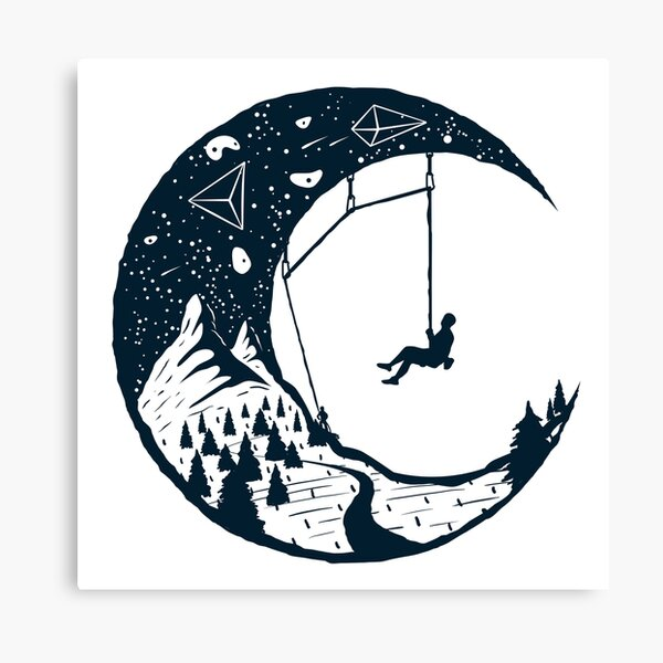 Climber's Sky | Climbing Canvas Print