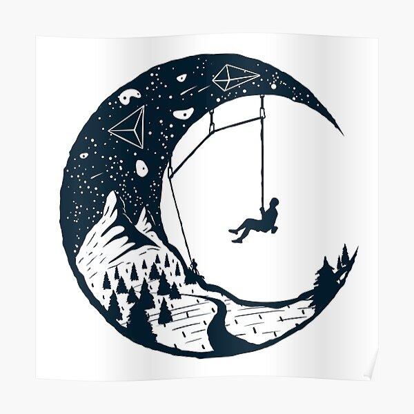 Climber's Sky | Climbing Poster