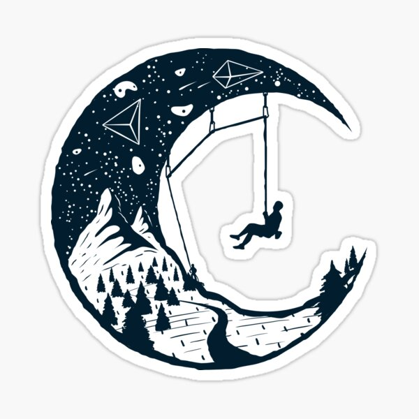 Ciel du grimpeur | Escalade Sticker