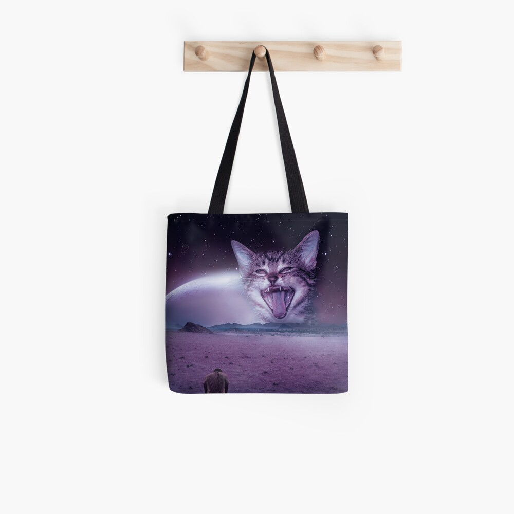 Planet Of The Cats Tote Bag