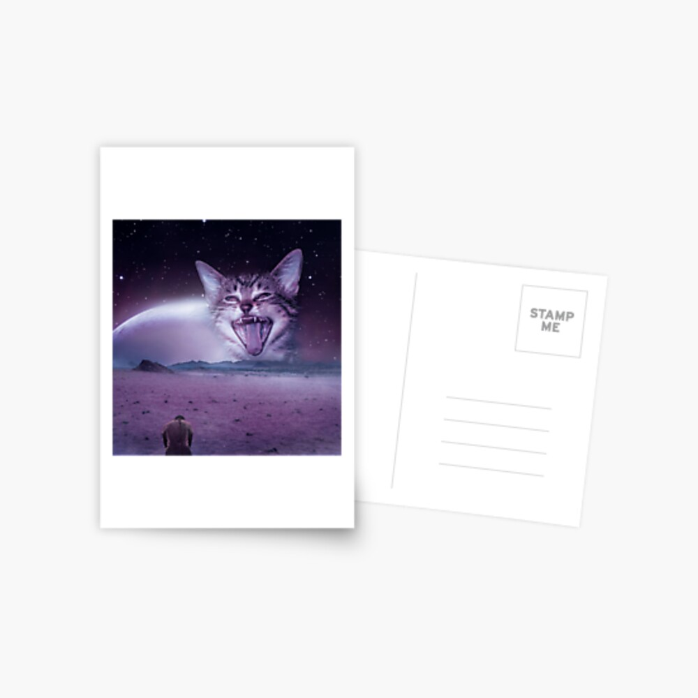 Planet Of The Cats Postcard