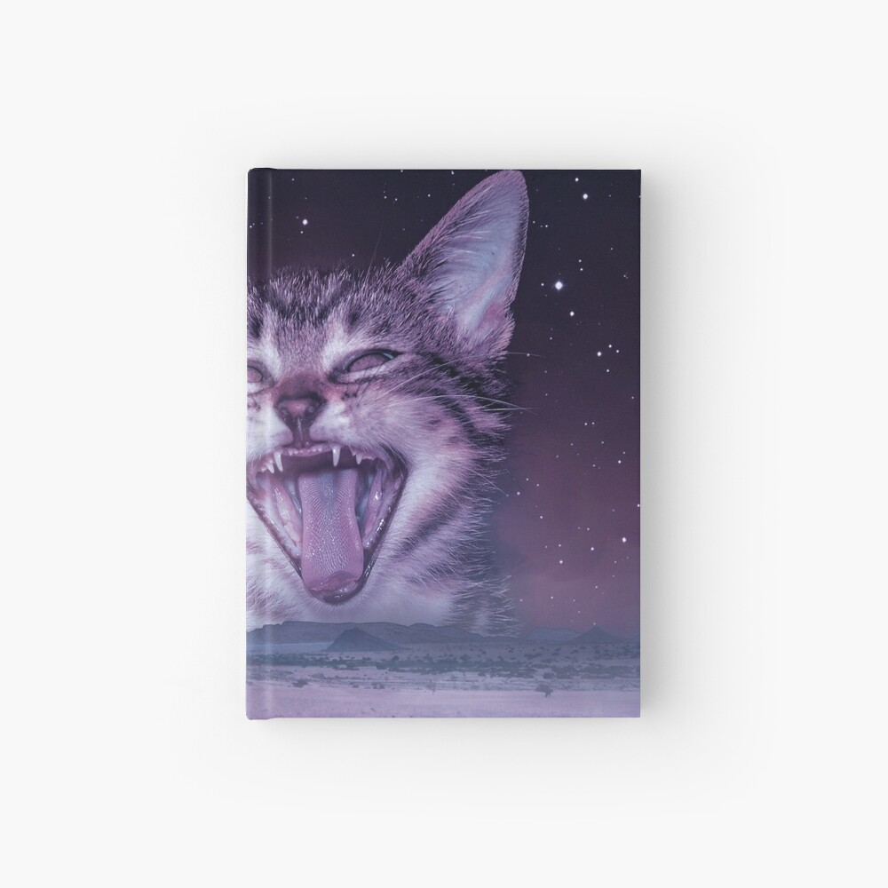 Planet Of The Cats Hardcover Journal