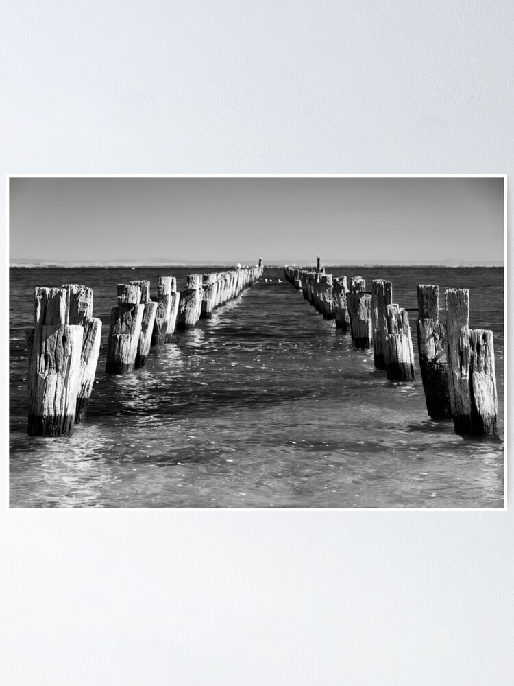 Alternate view of Pier today, gone tomorrow Poster