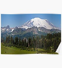 Mt. Rainier from Chinook Pass Poster