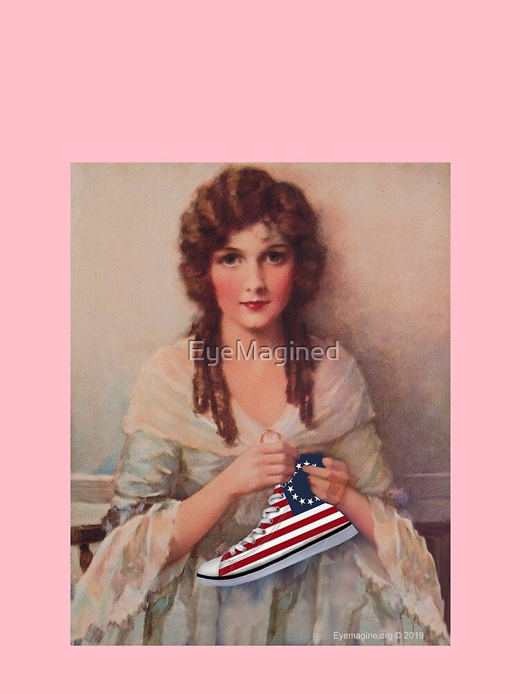 Betsy Ross with Sneaker by EyeMagined