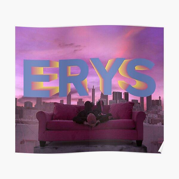 Jaden Smith ERYS album cover Poster