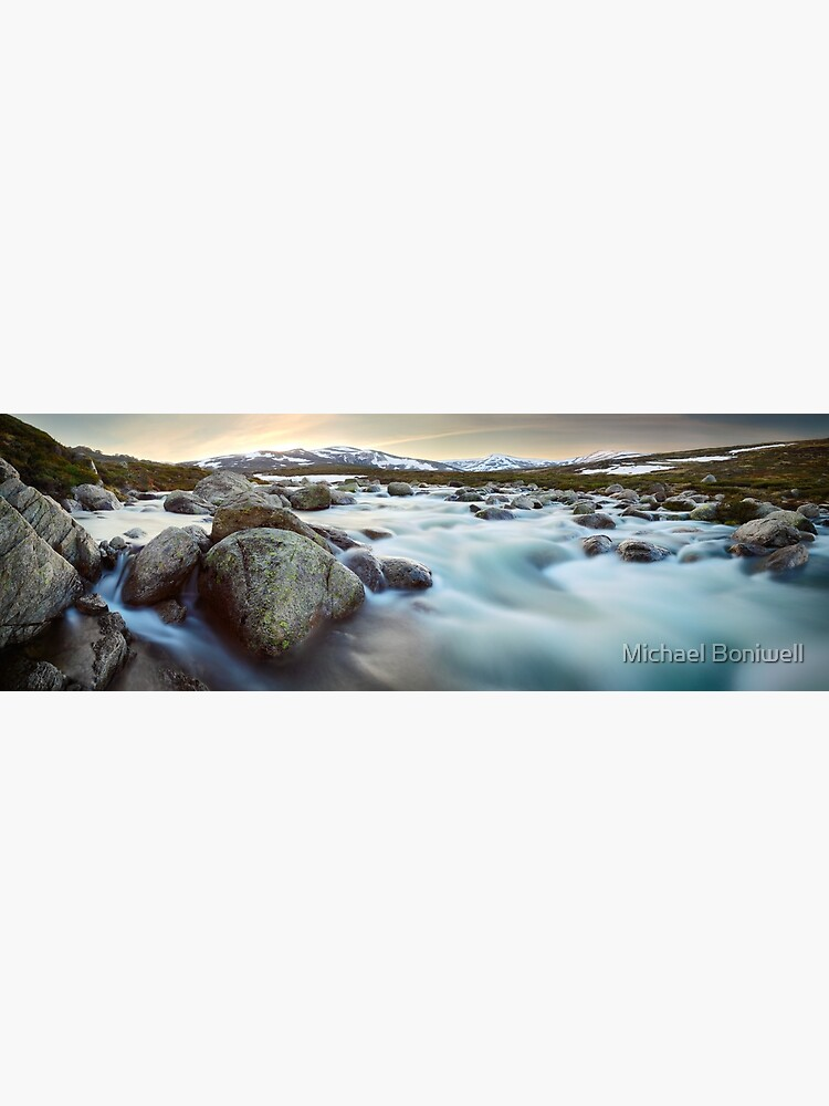 Snowy River Sunset, Mt Kosciuszko, New South Wales, Australia by Chockstone