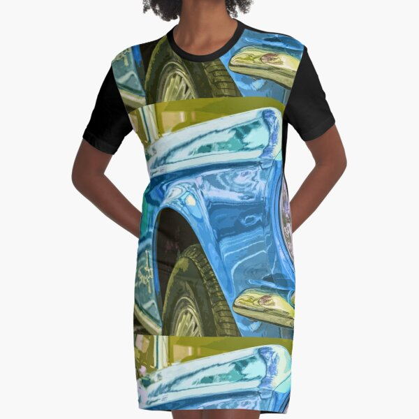 Ford Mustang Graphic T-Shirt Dress