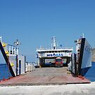 Agios Antonios cargo ship, Tilos by David Fowler