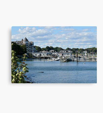 Jamestown Marina - Conanicut Island - Rhode Island Canvas Print