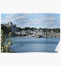 Jamestown Marina - Conanicut Island - Rhode Island Poster