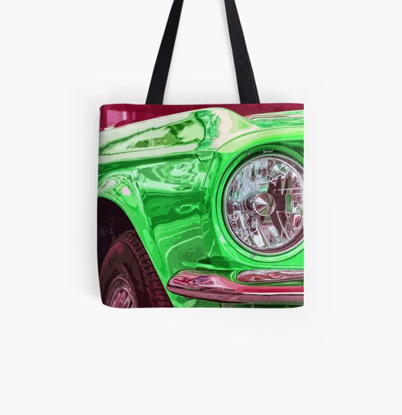 Ford Mustang All Over Print Tote Bag