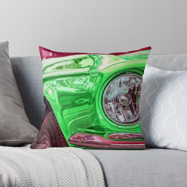Ford Mustang Throw Pillow