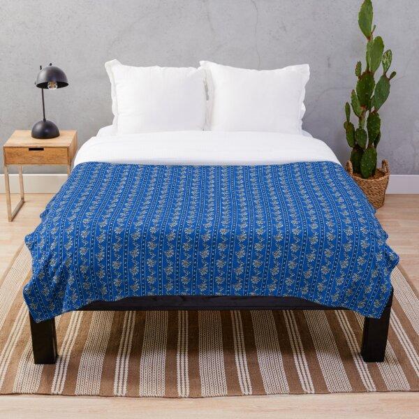 Wishing Blue Throw Blanket
