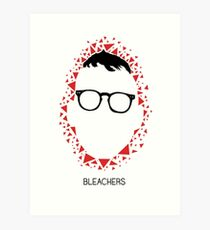 Bleachers Polygons Art Print