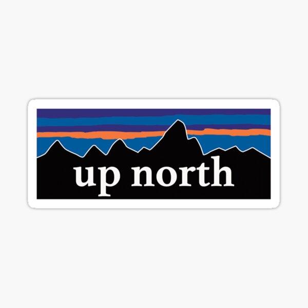 Up north  Sticker