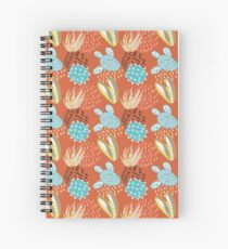 Terra-cotta Cactus Spiral Notebook