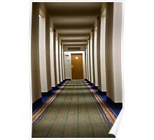Hallway Stroll Poster