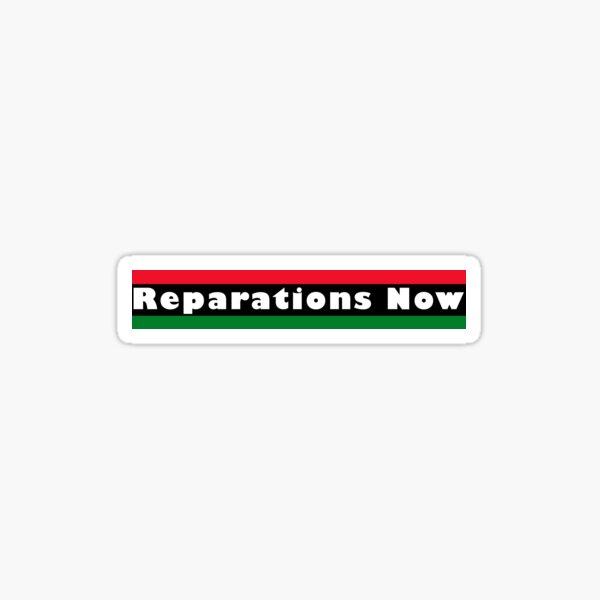 Reparations2 Sticker