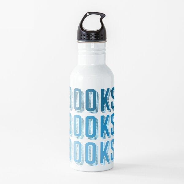 Books Books Books Water Bottle