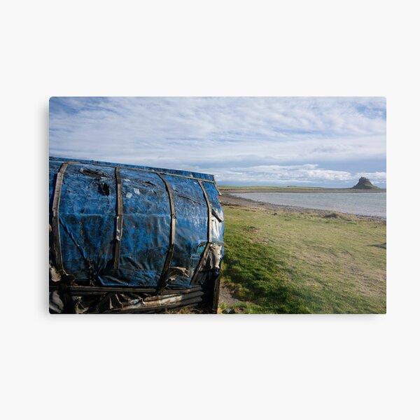 Views To Lindisfarne Metal Print