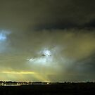 Angry Thunderstorm Skies by Bo Insogna