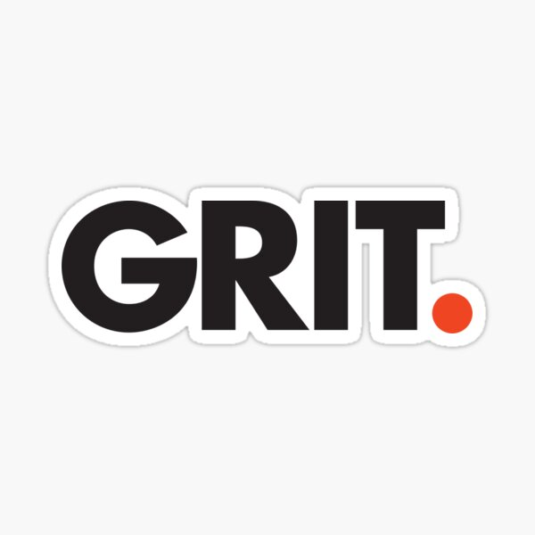 Grit Sticker