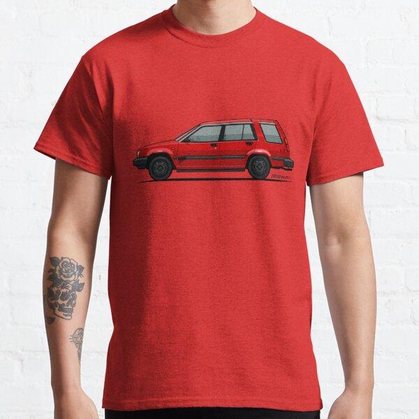 Jesse Pinkman's Crappy Red Toyota Tercel SR5 4WD Wagon AL25 Classic T-Shirt