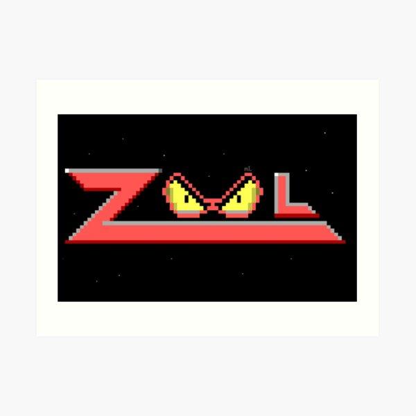 Zool logo Art Print